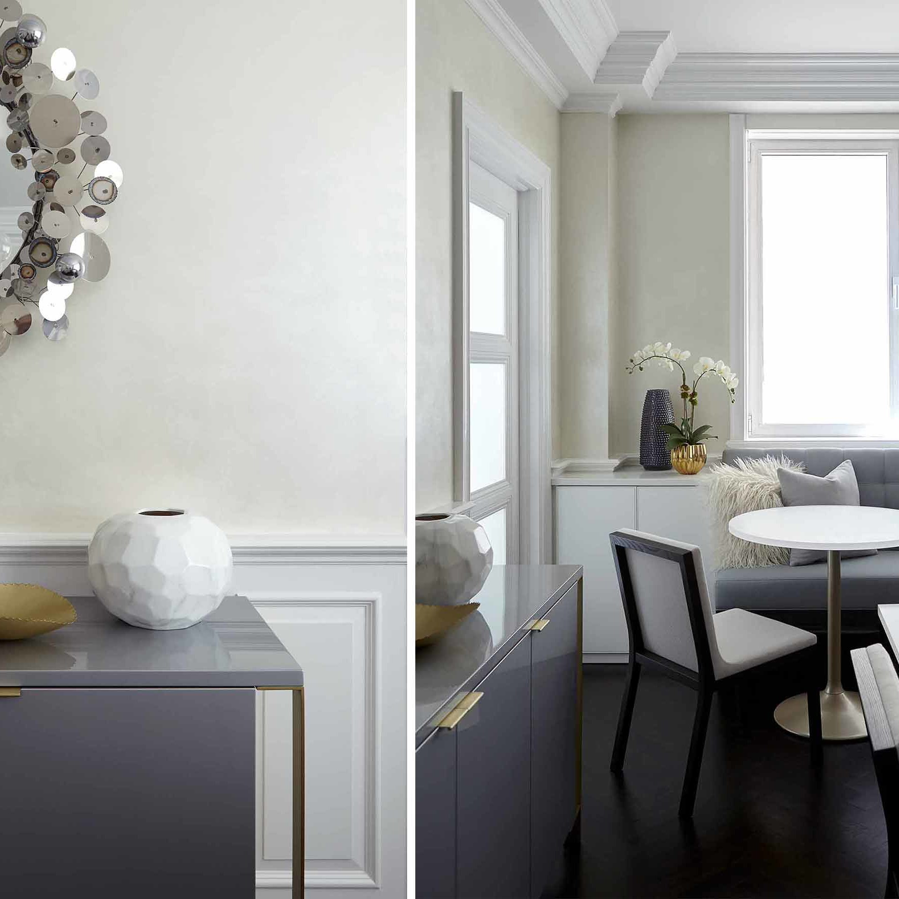 Dining room interior design by NYC's top interior design firm Darci Hether New York