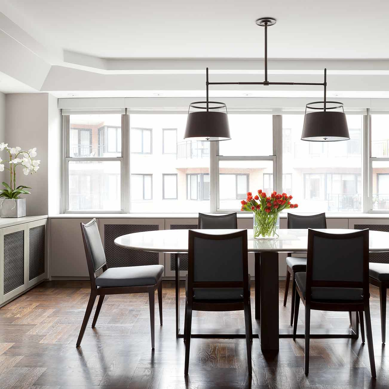 Dining room design by NYC's top interior design firm Darci Hether New York