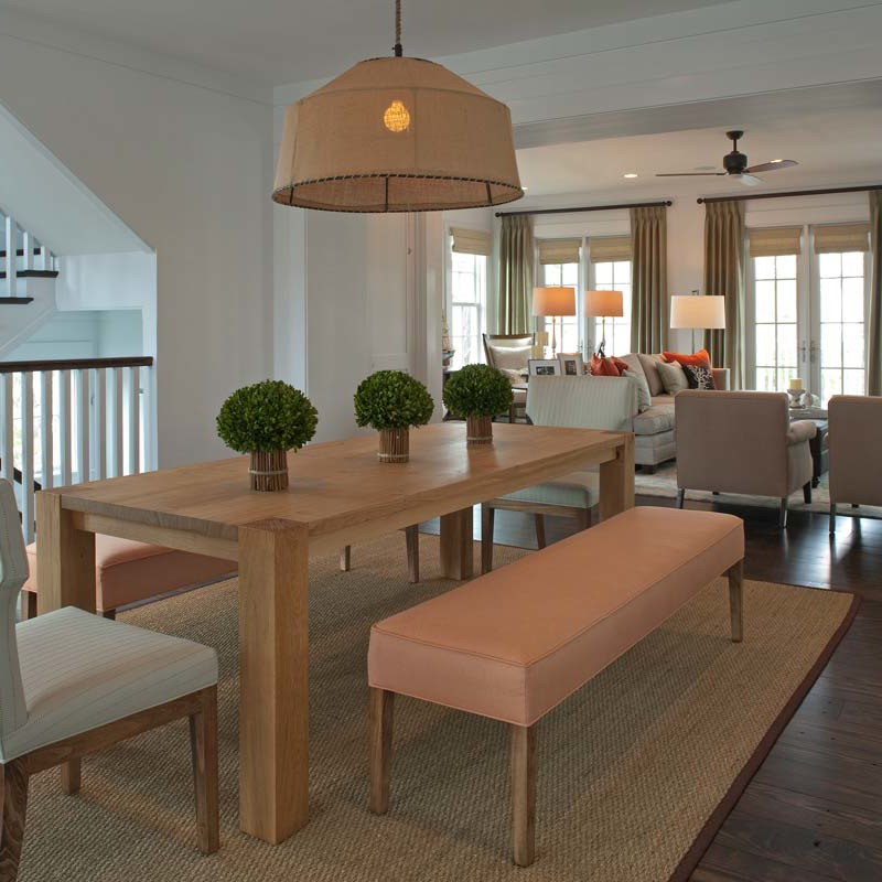 Turnkey family home interior design in Watersound beach by Darci Hether New York