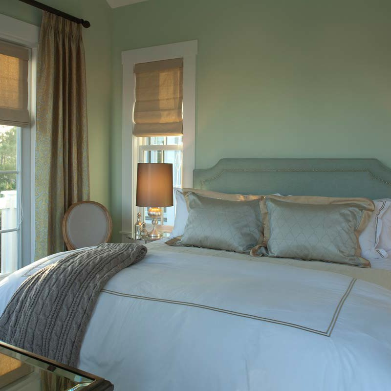 Guest bedroom interior design by Darci Hether New York in Watersound beach