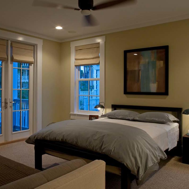 Bedroom interior design by Darci Hether New York