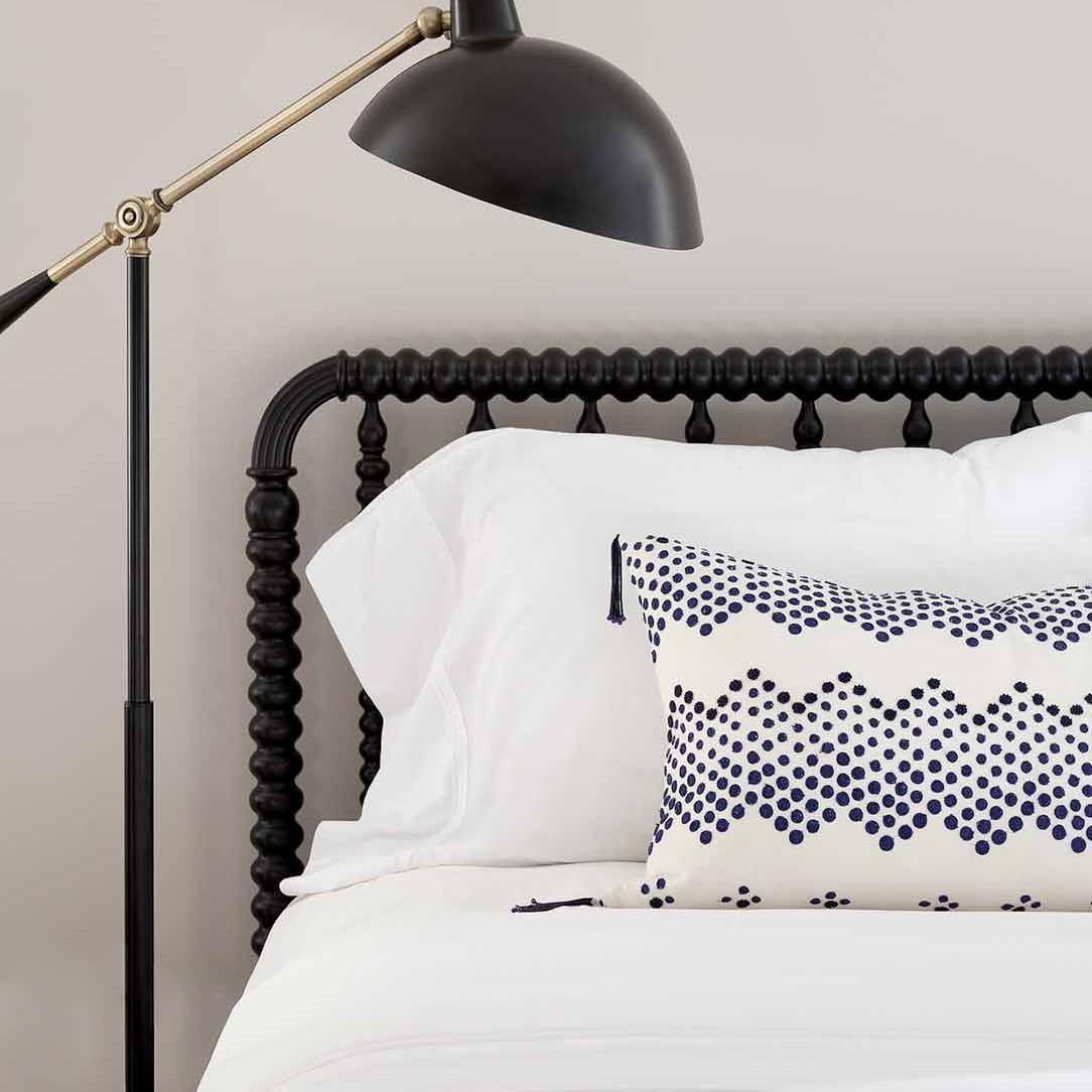 Coastal gender-neutral kids' bedroom interior design by Darci Hether New York