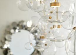 custom statement lighting-interior design