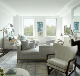 contemporary living room-interior design