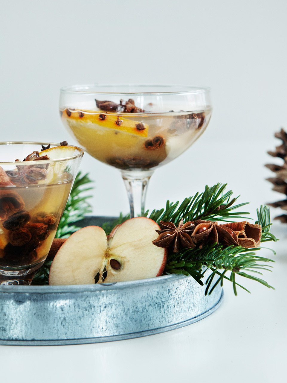 mulled white wine glogg