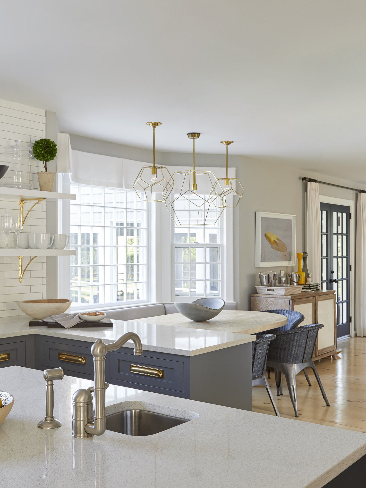 bridgehampton kitchen and breakfast nook