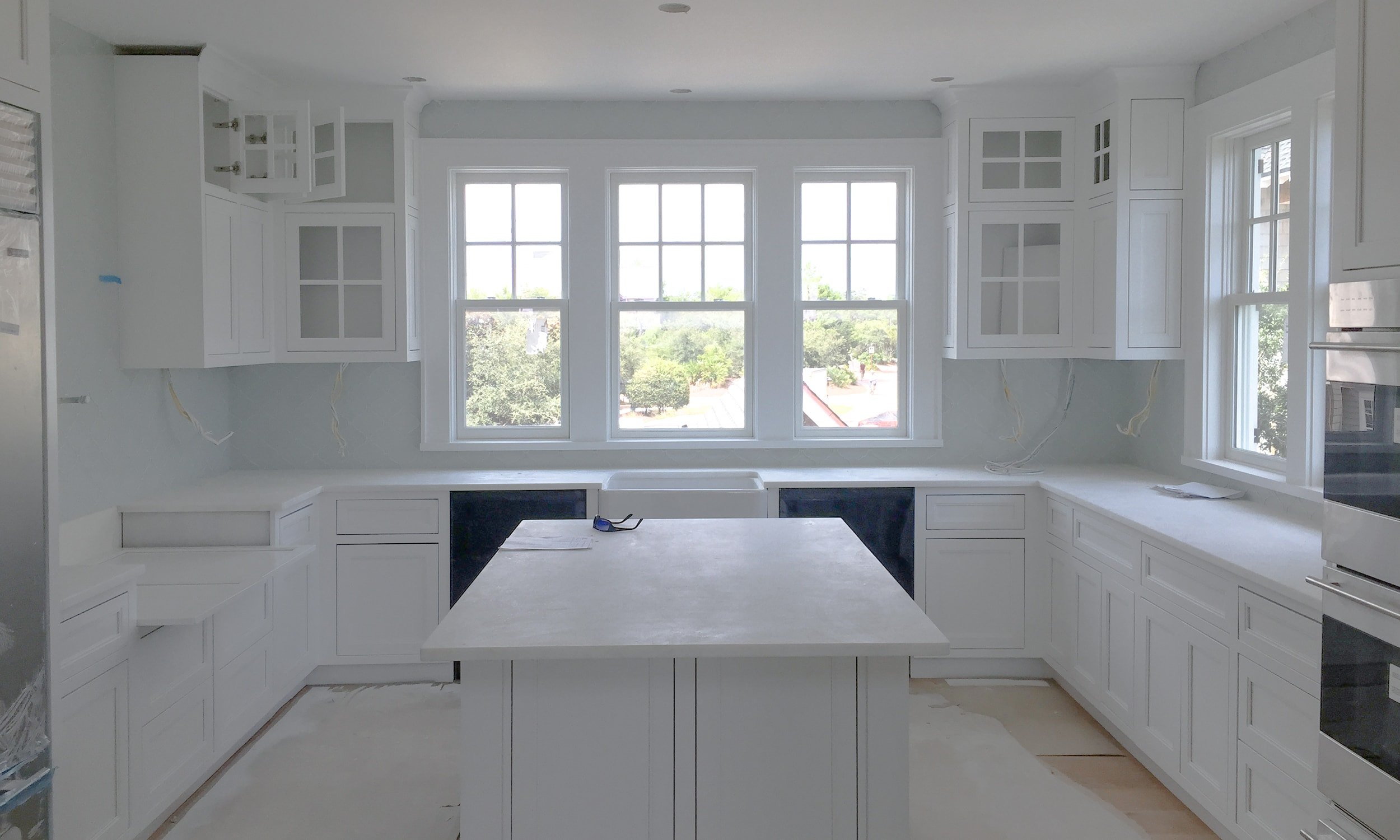 darci hether watersound beach renovation in process - kitchen design