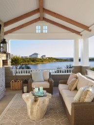 beachfront patio in this florida panhandle beach house - darci hether new york