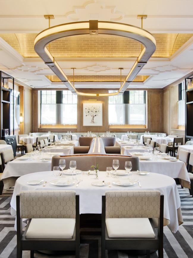 contemporary restaurant interior - Vaucluse ny