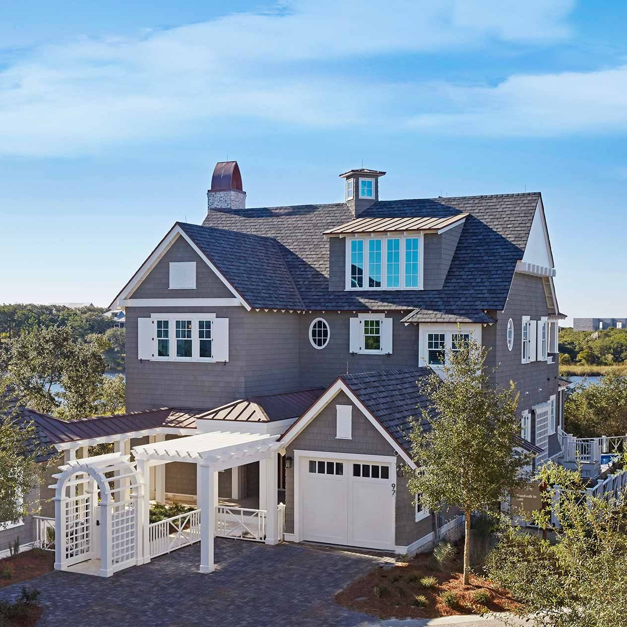 Watersound beach house exterior