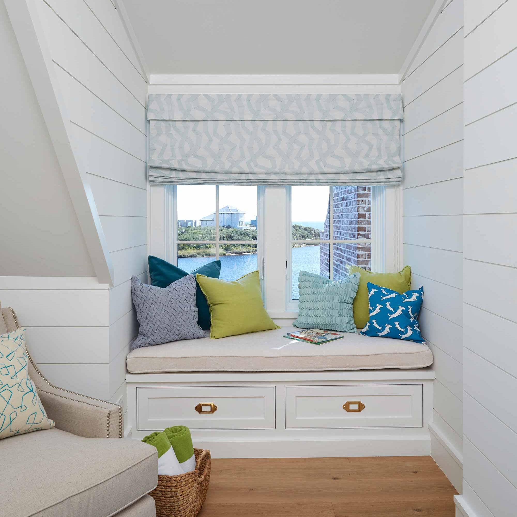 Coastal kids playroom interior design by Darci Hether New York in Watersound beach
