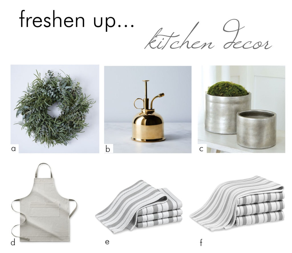 freshen up kitchen decor spring cleaning - darci hether new york