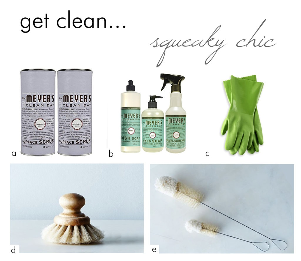 get clean - freshen up spring cleaning - darci hether new york