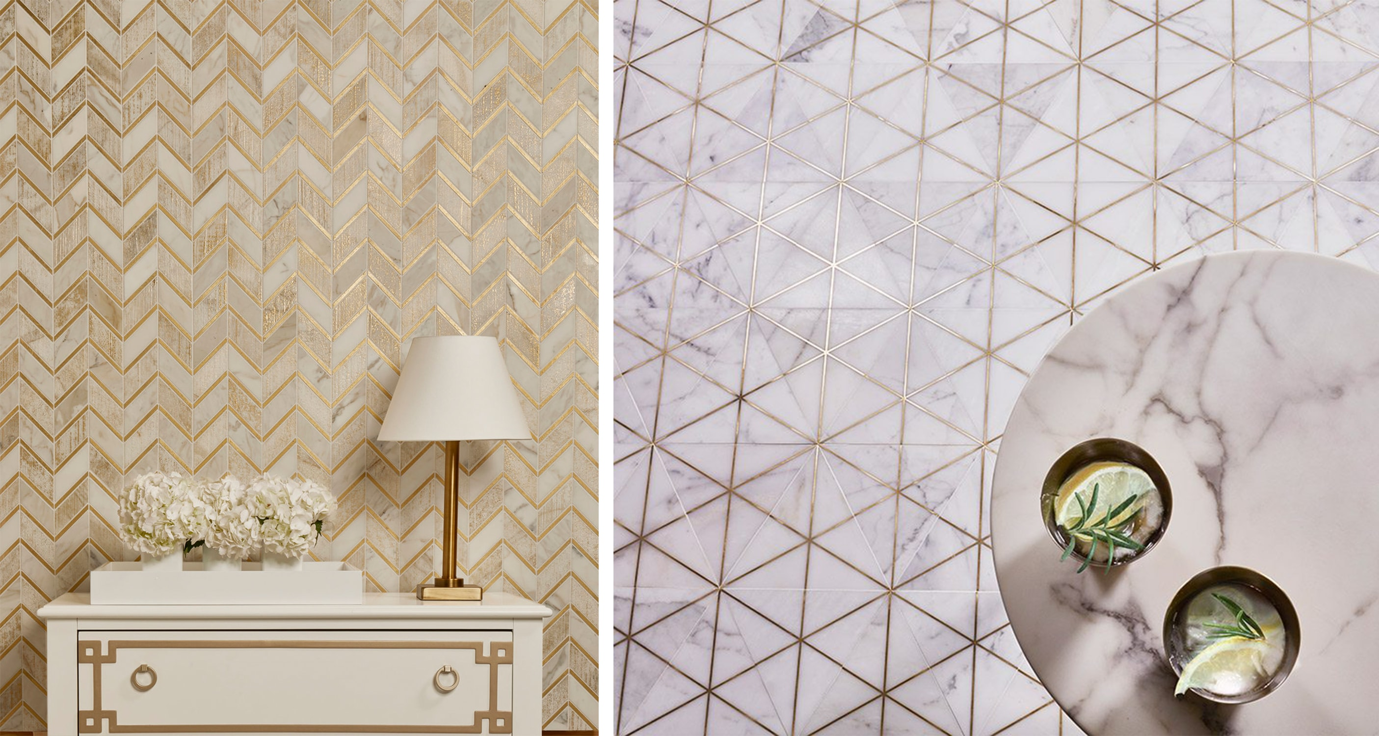 akdo tile with metal inlay - it's all in the details! - darci hether new york