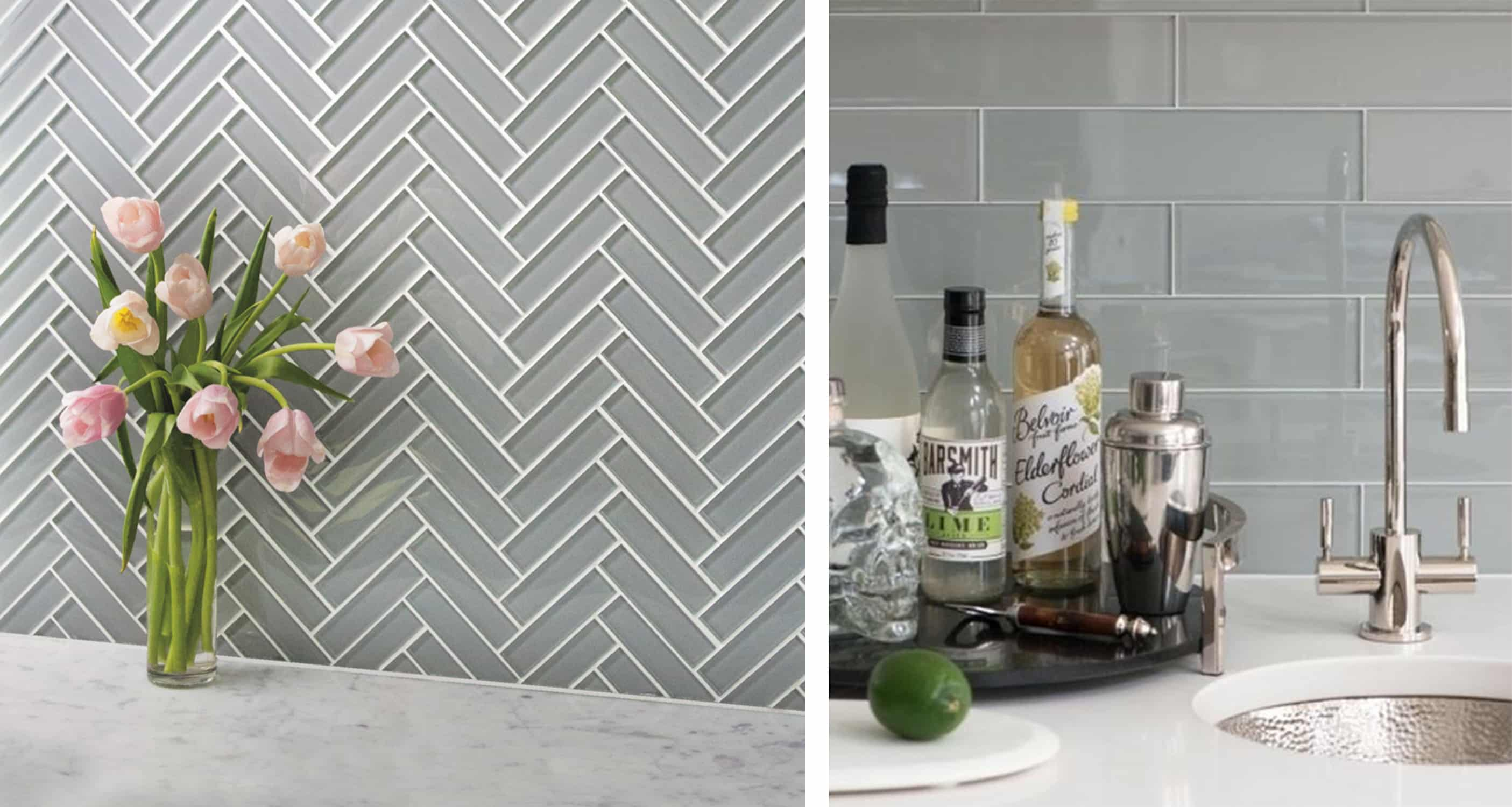 akdo glass tile - dove grey - tile trends - darci hether new york