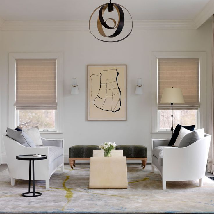 picking the right area rug can be a challenge! (interior by Sara Story) - Darci Hether New York
