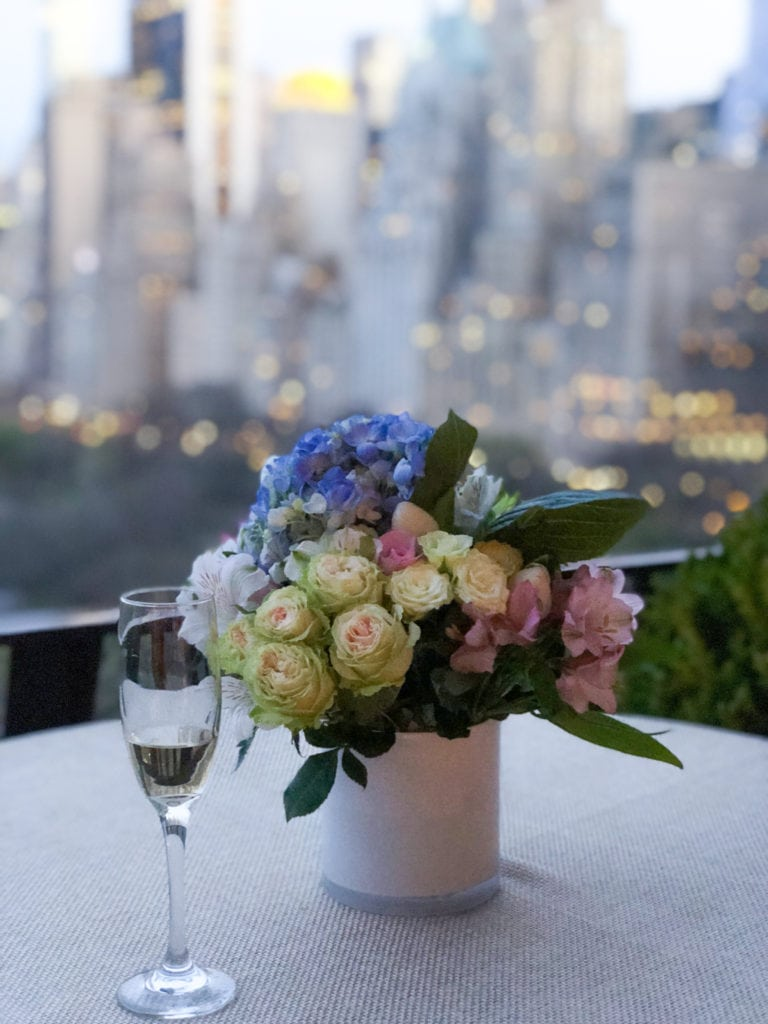 cheers to central park and new york city in the spring! - Darci Hether New York