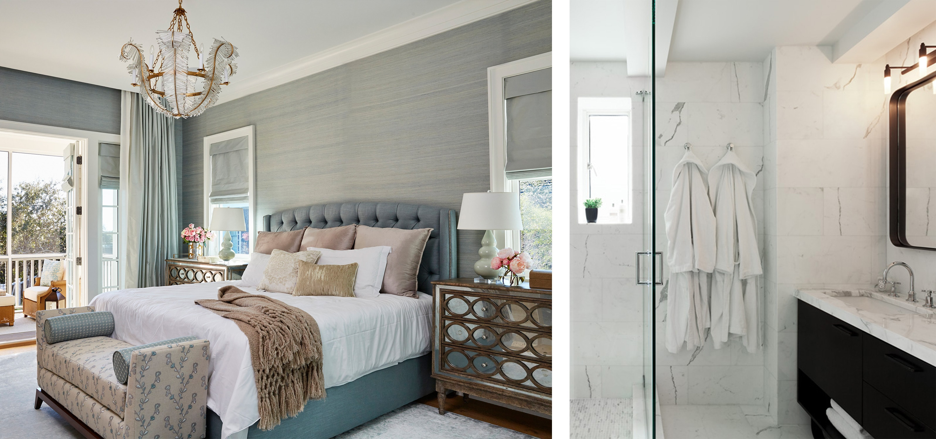 design tip #3: choose white linens for the bedroom and bathroom, and here's why. - darci hether new york