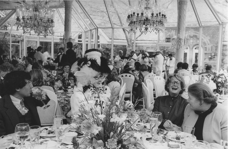 hat luncheon 1983 - via town & country
