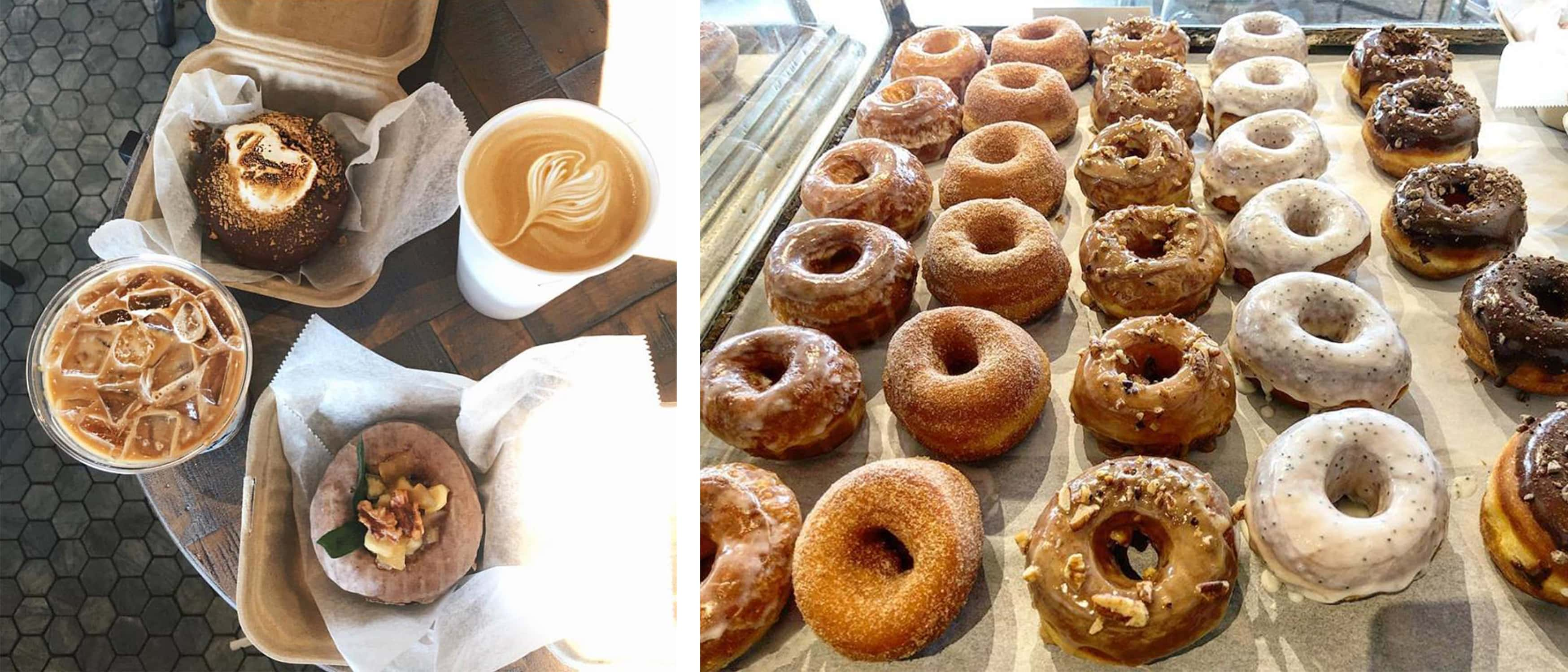 you can't miss grindstone coffee & donuts when you're in the hamptons - here are my top 10 hamptons getaway essentials - darci hether new york