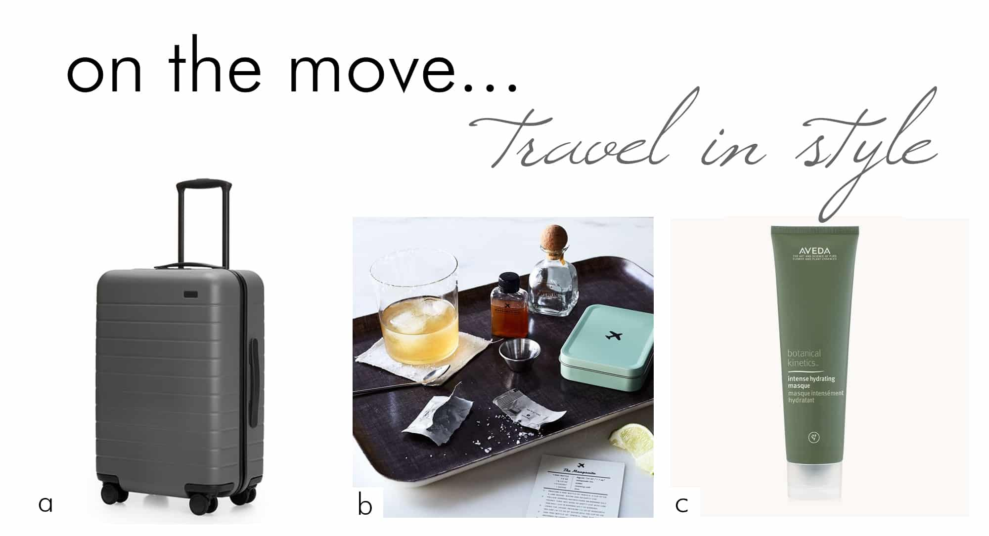 travel in style with these chic travel essentials