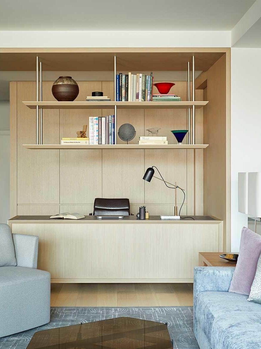 Modern apartment on Central Park West designed by interior design firm Darci Hether New York
