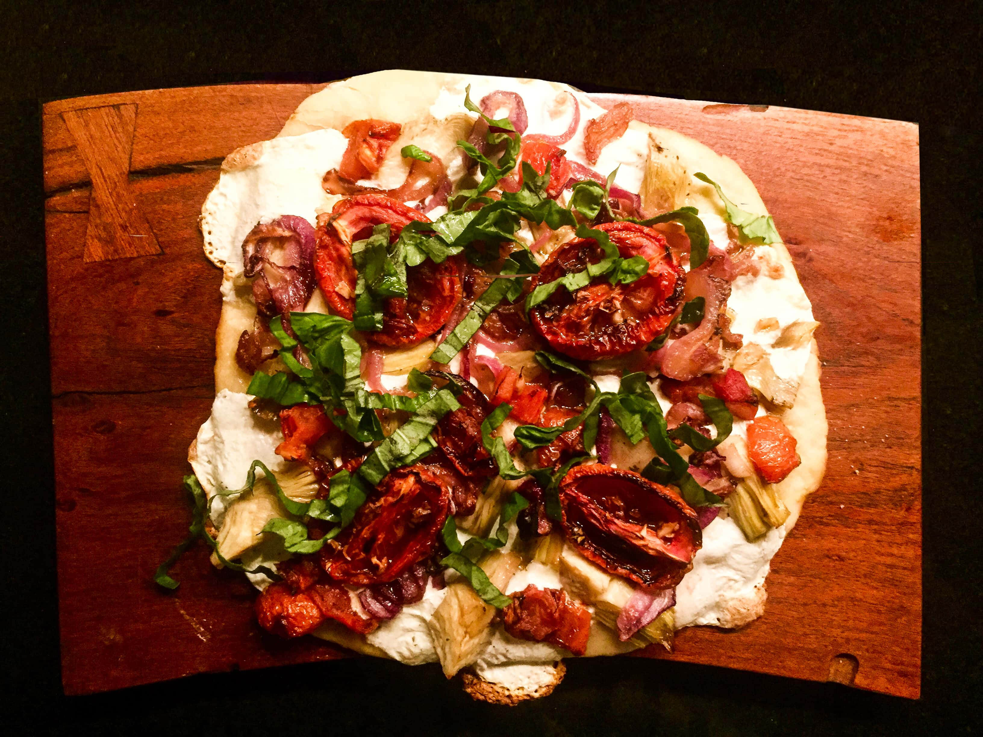 summer dinner party pizza specialty recipe baked by darci hether