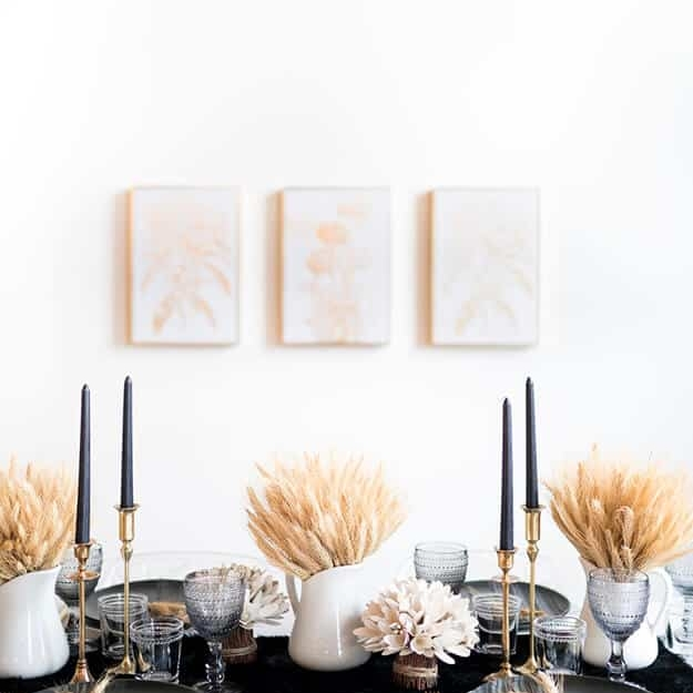 Take your thanksgiving decor to the next level – Blog by Darci Hether New York