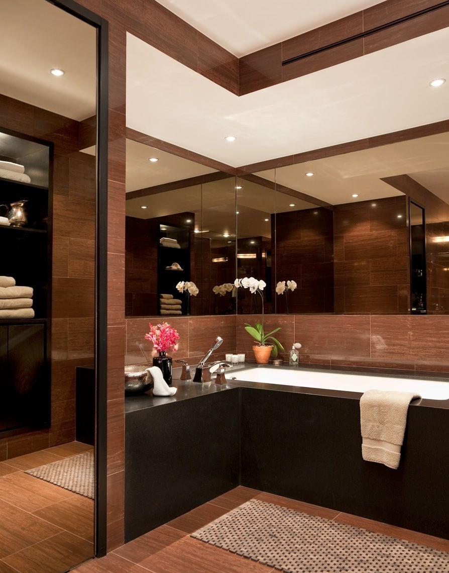 elegant luxury bathroom design renovation darci hether new york