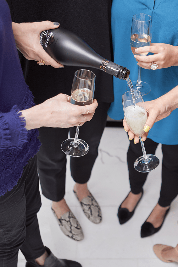 darci-hether-new-york_interior-designer_behind-the-scenes-of-a-stress-free-city-space-update_reveal-day_champagne-toast