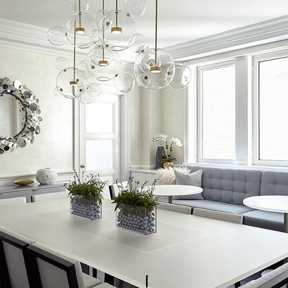 darci-hether-new-york_interior-designer_tremendous-benefits-of-custom-furniture-for-your-home_5th-avenue_central-park-views_dining-room-with-banquette-and-bistro-tables_nyc-apartment