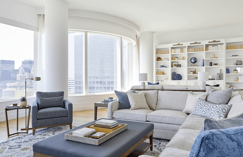 darci-hether-new-york_interior-designer_the-3-nyc-apartment-styles_what-you-need-to-know_modern-new-build-apartment-library-and-living-room