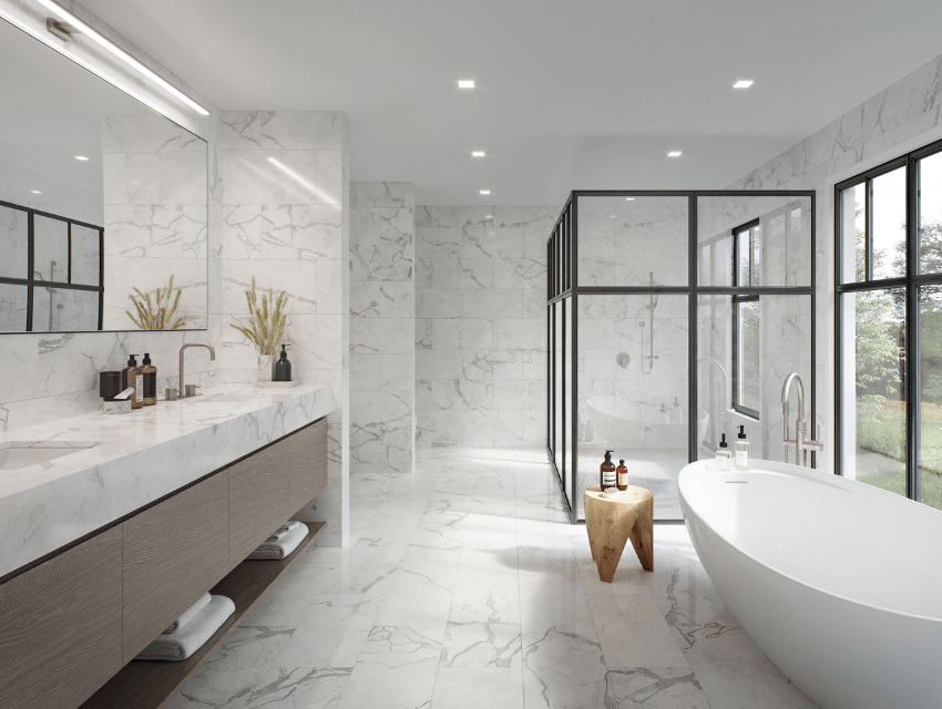 darci-hether-new-york_interior-designer_how-to-use-mixed-metals-to-create-a-luxury-look-in-your-bathroom_rendering-of-modern-master-bathroom