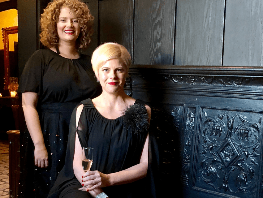 darci-hether-new-york_luxury-interior-designer_celebrating-sarah-and-a-look-back-at-10-delightful-years-of-dhny_darci-and-sarah-at-cocktail-party