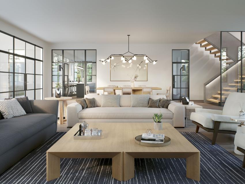 bridgehampton new build living room design white furniture performance fabric coastal luxury