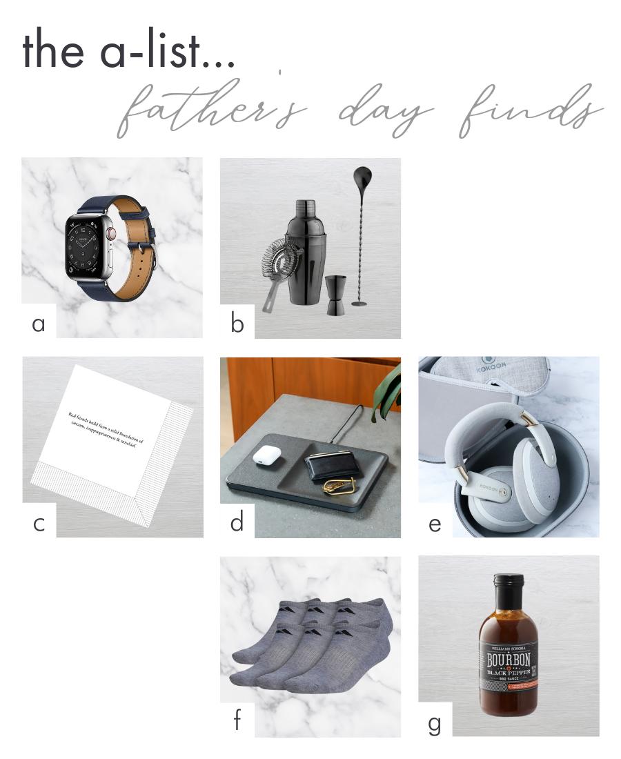 dhny fathers day gift ideas kokoon headphone shaker adidas socks hermes watch strap