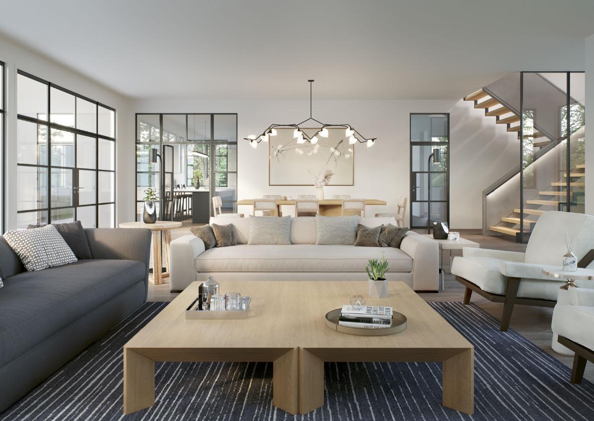 Living Room Design, Digital Renderings, Upper East Side, NYC, Darci Hether NY