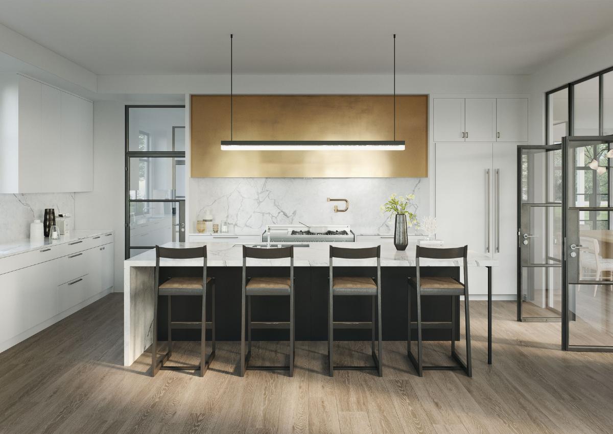 Kitchen Design, Digital Renderings, Upper East Side, NYC, Darci Hether NY