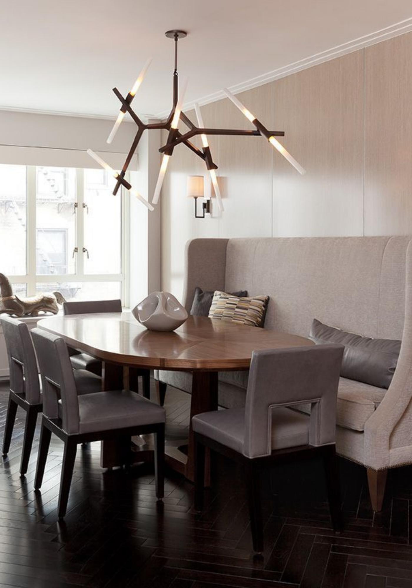 DarciHetherNY, NYC, Interior Design, Modern, Luxury, Dining, Decorative Lighting